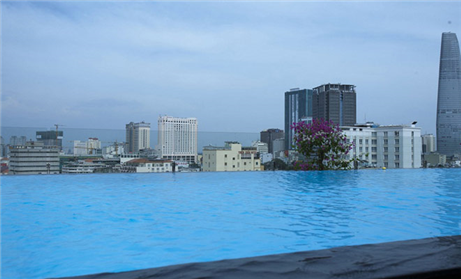 4 Nights at 4 star Grandsilver Land Saigon Hotel, 3 Rounds
